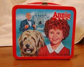 1981 Annie Lunchbox Collectible