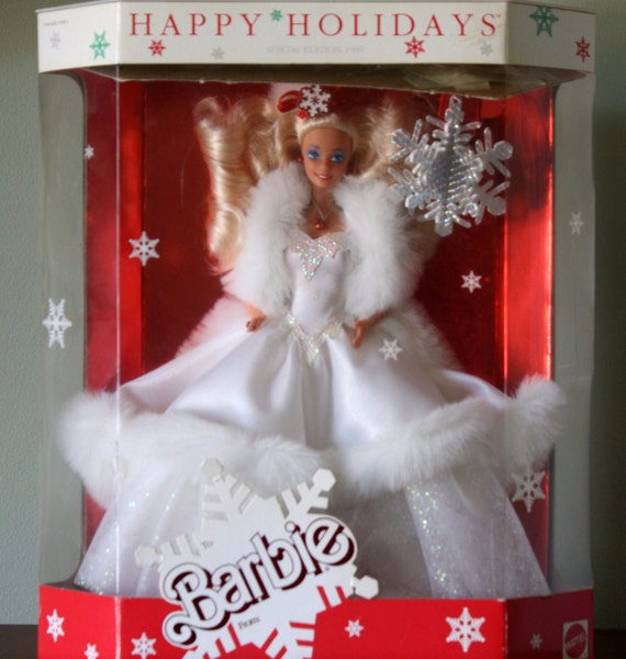 1988 Christmas Barbie Value