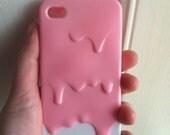 Kawaii Melty Ice Cream iPhone 4/4s case
