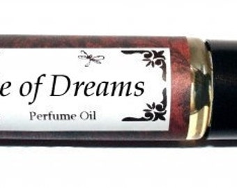 ISLE OF DREAMS Roll on Perfume Oil - 2 sizes to choose from - 1/3 oz or 1/6 oz - Peach, Appple, Orange, Musk, Vanilla