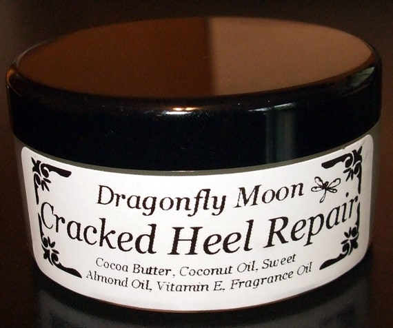cocoa butter for cracked heels