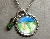 Animal Pendant Charm Necklace - Inspired By Heartland Farm Sanctuary