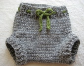 SMALL Wool Soaker Diaper Cover