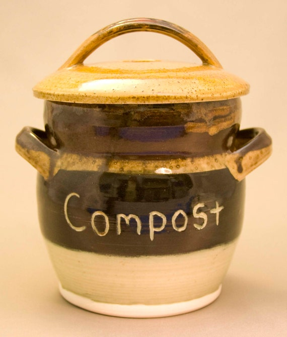 Compost Crock Countertop Compost Container