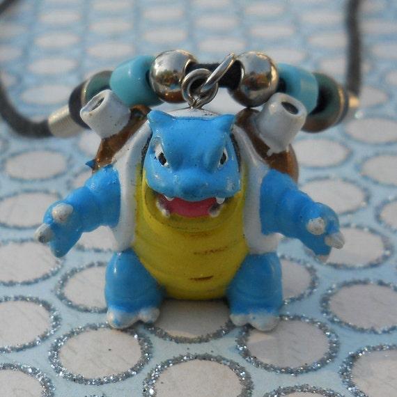 Blastoise Pokemon Necklace