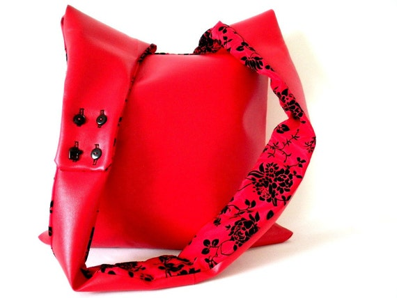 not my rockabilly red bag