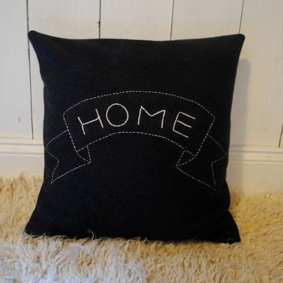 Vintage Tattoo Banner Cushion- Home