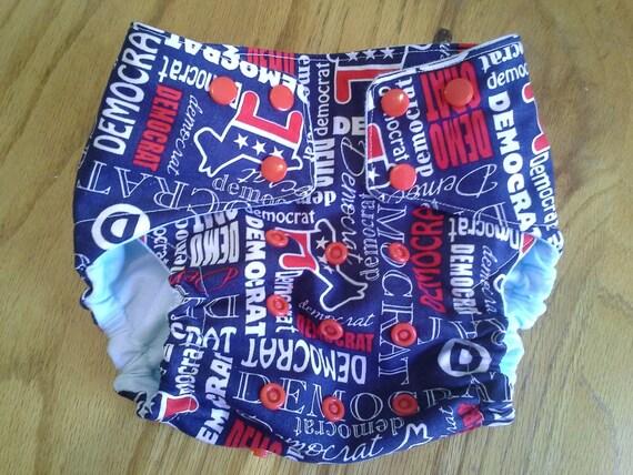 Democrat cloth diaper