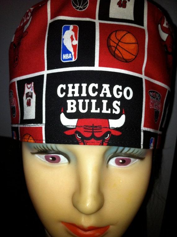 Chicago Bulls Unisex Scrub Hat