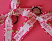 "1.5"" Big Sister and Little Sister Bows (Set)"