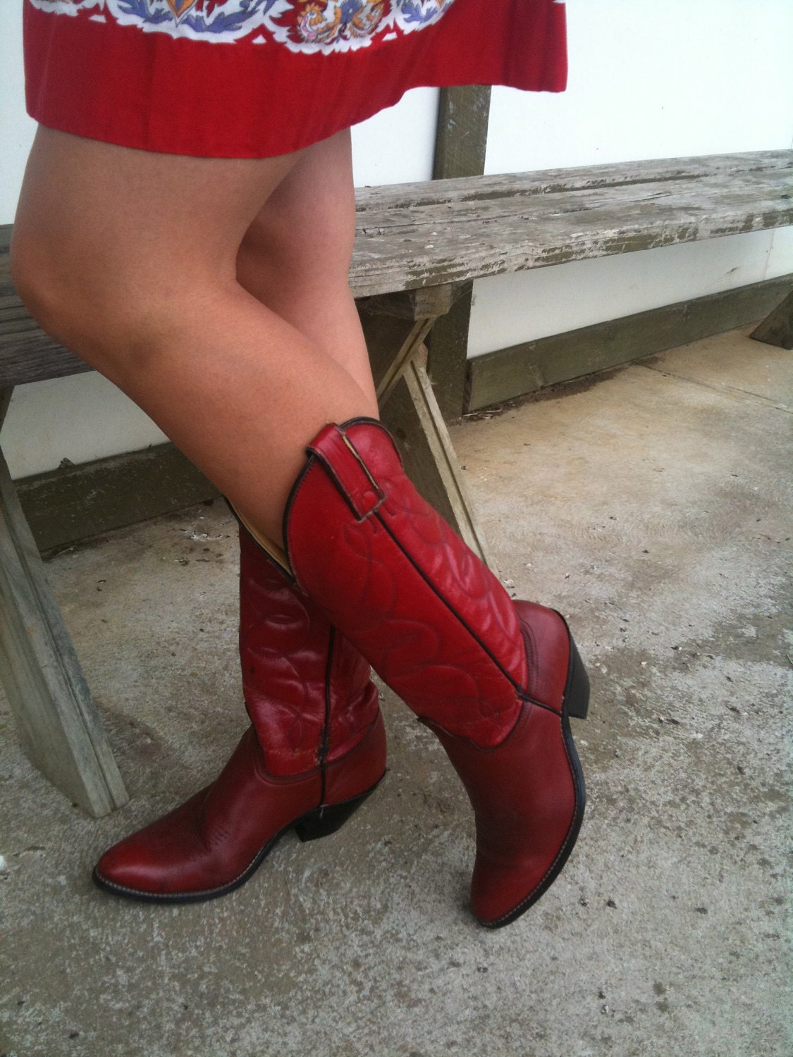 Creative Womens Ariat Heritage Western R Toe Boots Red Deertan | ShOOOOOOES | Pinterest | Red Cowboy ...