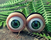 Human Eye Plugs - Custom - Sizes 9/16 through 1 inch