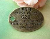 10 pcs 29x20mm Antique Bronze letters Signs Oval connectors Charms Pendants f7071-2l530