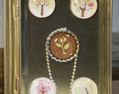 Mix & Match Funky Birds and Trees Necklace
