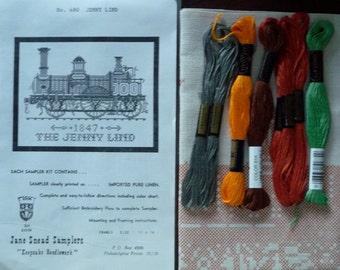 Jane Snead Samplers 480 Jenny Lind Vintage Cross Stitch Kit