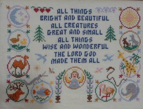Jane snead samplers vintage cross stitch by