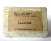 Lavender Soap . Exfoliating Soap . All Natural Soap . Handmade Soap . Unscented Soap . Vegan Friendly Soap