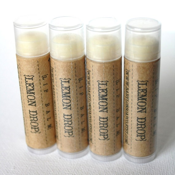 RESERVED Listing for Q . Custom Lip Balm Set . Cocoa Butter & Beeswax . All Natural . Handmade . No Added Color or Sweeteners