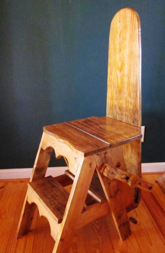 Items Similar To The Jefferson Bachelor Chair Step Stool