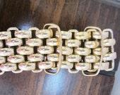Vintage Unsigned Gold tone 39 inch Belt
