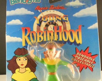 Young Robin Hood Maid Marion Bendable Action Figure Hanna Barbera NEW PRICE