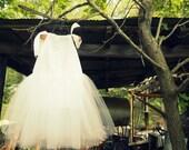 Ballerina Princess Flowergirl Wedding Pillowcase Tutu Dress, Sizes 4, 5, 6 (sewn)