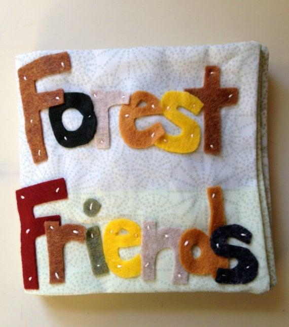 Children's Quiet Book - Forest Friends