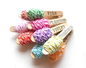 Bakers Twine - You Pick - 72 Feet / 24 Yards - As seen in Romantic Homes Magazine