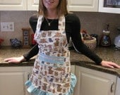 ON SALE!!! Kitty Puppy Bunny Apron