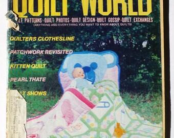 Vintage Quilt Magazine, Quilt World