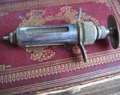 Early 1900's Veterinary Syringe