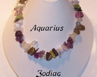 Zodiac Bracelet - Aquarius