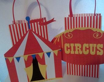 Circus Favor Bags
