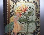 Flower Fairy ,children, hand painted box, storage box, floral box, fantasy art, floral art, garden art
