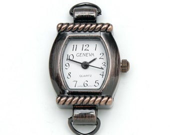 Copper Rope Bar Watch Face