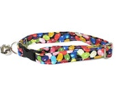 Jelly Bellies Adjustable Cat Collar