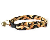 French Fries Adjustable Cat Collar