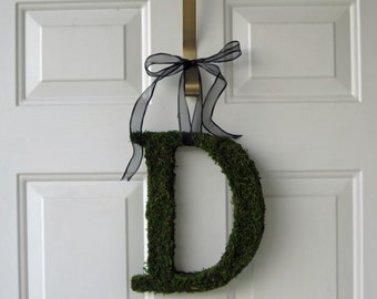 Moss Letter Wedding Monogram ( 10 inches )