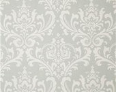 Gray Damask Contour Changing Pad Cover