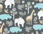 Zoology in Sea  with Minky Boppy Cover