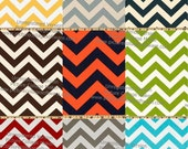 Build Your Own Chevron Contour Changing Pad Cover
