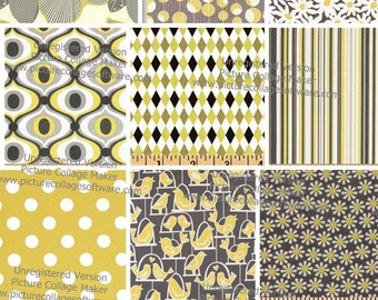 Build Your Own Gray and Yellow Boppy Cover