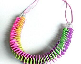 Polymer Clay Necklace Garland