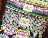 Set of 3 Burp Cloths: Stylish and Super Absorbent