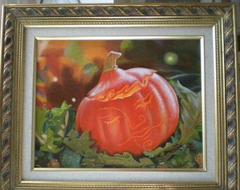 Autumn Slumber Pumpkin