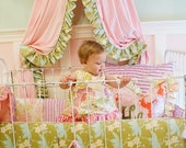 Beautiful and Precious Addison LOVE Baby Bedding Collection- Includes 4 Pieces