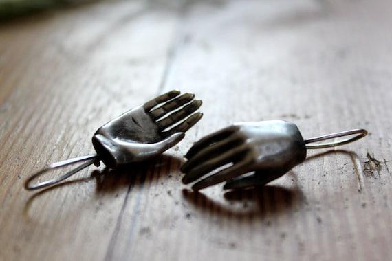 Hand earrings--ON SALE