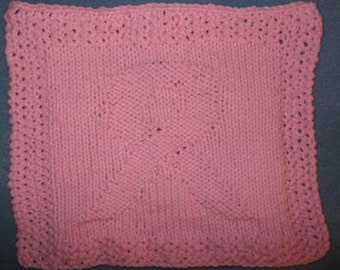 Breast Cancer Dishcloth Knitting Pattern : Popular items for knitted breast on Etsy