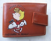 "Vintage ""Speak Softly, and Carry a Beagle"" Peanuts Wallet"