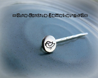 Beautiful Hand Stamped Bobby Pins